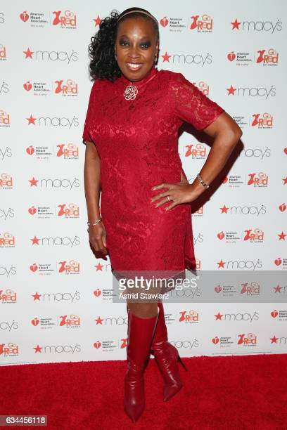 Star Jones attends the American Heart Association's Go Red For Women Red Dress Collection 2017 presented by Macy's at Fashion Week in New York City...
