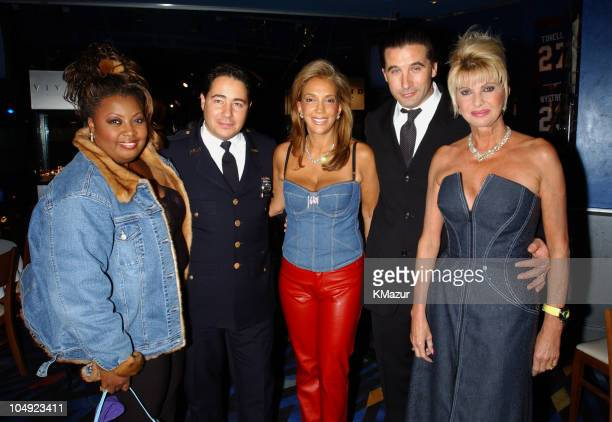 Star Jones Danny Rodriguez Denise Rich Billy Baldwin Ivana Trump