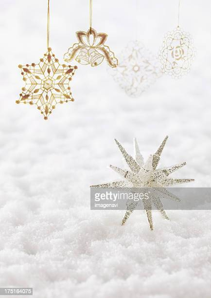 Star object and ornaments, CG