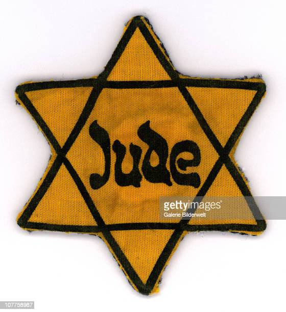 Star of David Badge This badge also known as Jewish Badge Yellow Badge or Yellow Patch was worn on a concentration camp uniform 1941 The yellow badge...