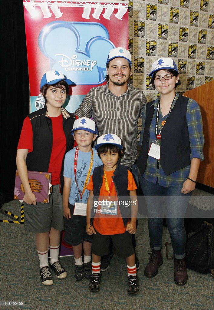 ANIMATION - Star of Disney Channel's animated series 'Gravity Falls,' Jason Ritter meets fans of his character ('Dipper Pines') at the Disney Channel panel at Comic-Con International 2012 in San Diego. JASON