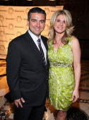 Star of television reality show 'Cake Boss' Buddy Valastro and wife Lisa Valastro attend the Paley Center for Media's 2010 gala at Cipriani 42nd...