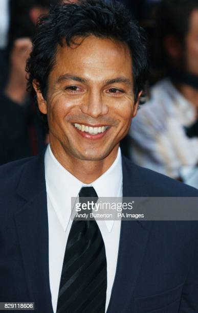 Star of the film Benjamin Bratt arrives for the European premiere of Catwoman at the Vue cinema in Leicester Square central London