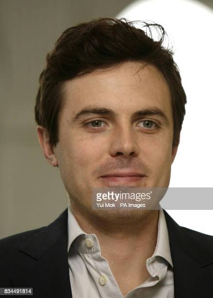 Star of the film Casey Affleck during a photocall for 'Gone Baby Gone' at the Mandarin Oriental hotel in west London