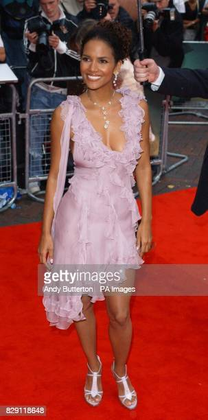 Star of the film Halle Berry arrives for the European premiere of Catwoman at the Vue cinema in Leicester Square central London