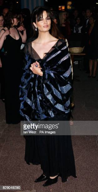 Star of the film Sonia Aquino arrives at the HBO party for The Life And Death Of Peter Sellers at Martinez Beach during the 57th Cannes Film Festival...