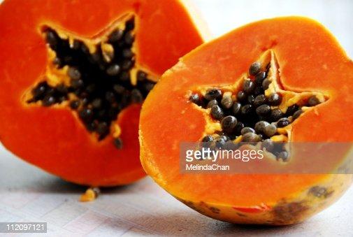 Star papaya : Stock Photo