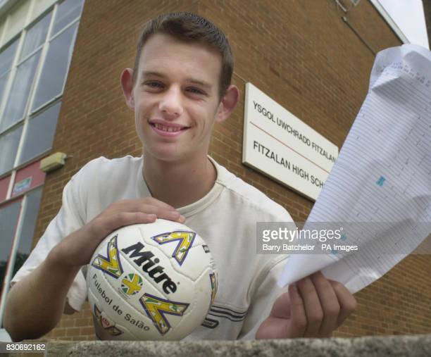 Star pupil Michael Porton who has an apprenticeship with to Bristol City FC collecting seven GCSE passes he already had 6 GCSE at Fitzalan High...