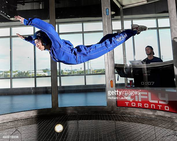 Star reporter Lauren Pelley iFly is a relatively new indoor skydiving facility in Oakville The custom build facility has a 45 foot high vertical wind...