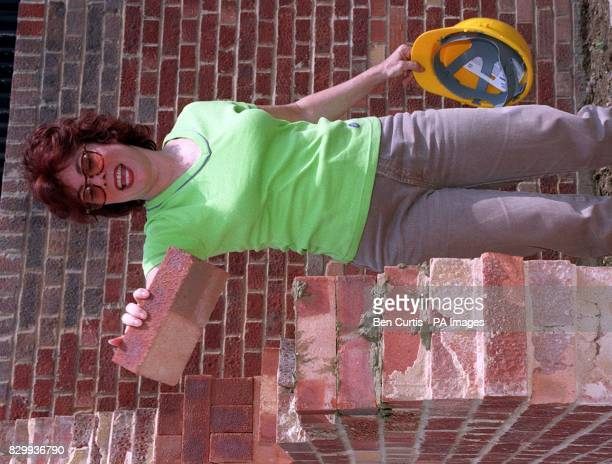 TV star Ruby Wax lays the first bricks in a new 40bed hostel in Shepherd Bush west London aimed at improving the lives of hundreds of London's...