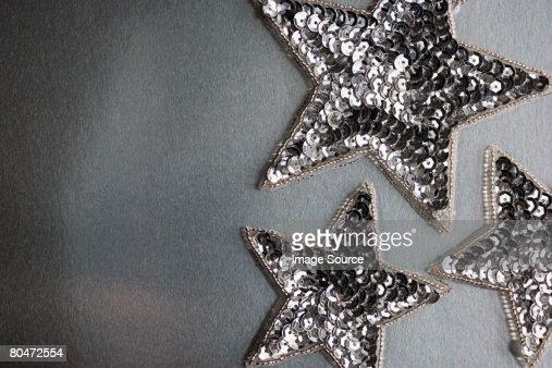 Star shape christmas decorations
