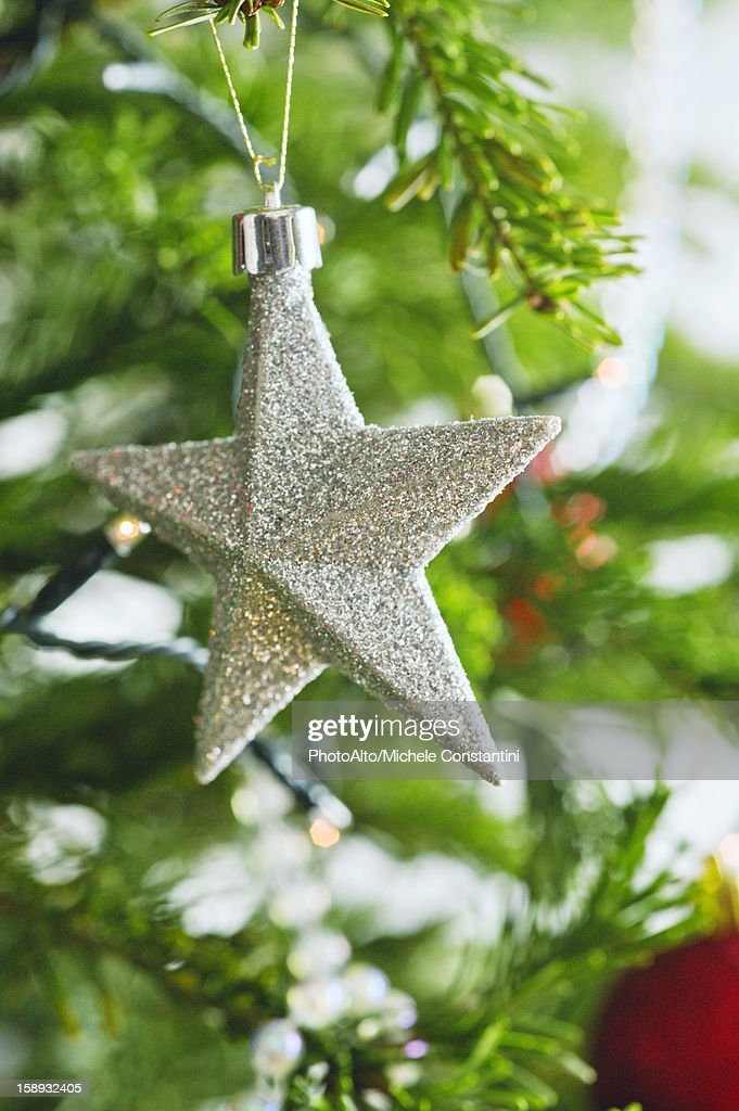 Star shaped Christmas ornament : Stock Photo