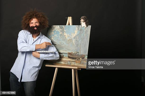Star staffer Jesse Ship dresses up as Bob Ross