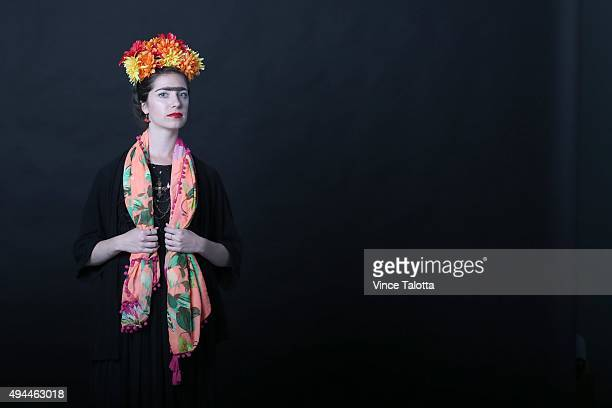 Star staffer Lauren Pelley dresses up as Frida Kahlo