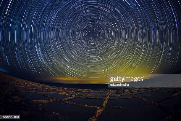 Star Trails-Gozo Salt et de poêles