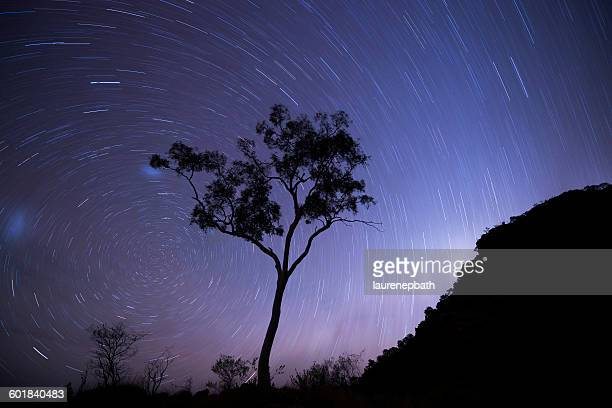 Star Trails in the Northern Territory, Alice Springs, Australia