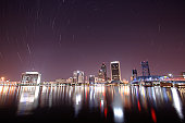 Star Trails over Jacksonville, FL