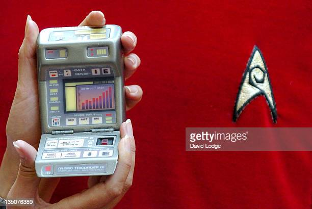 Star Trek memorabilia being auctioned to mark the 40th anniversay of Star Trek Tricorder