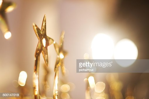 Star Trophies : Stock Photo