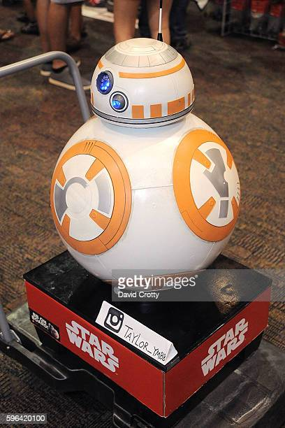 Star Wars Droid BB8 attends Comic Con Palm Springs 2016 at Palm Springs Convention Center on August 27 2016 in Palm Springs California