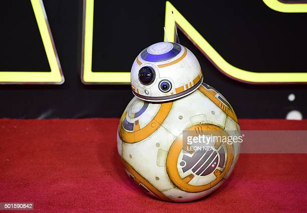 Star Wars droid BB8 attends the opening of the European Premiere of 'Star Wars The Force Awakens' in central London on December 16 2015 Ever since...
