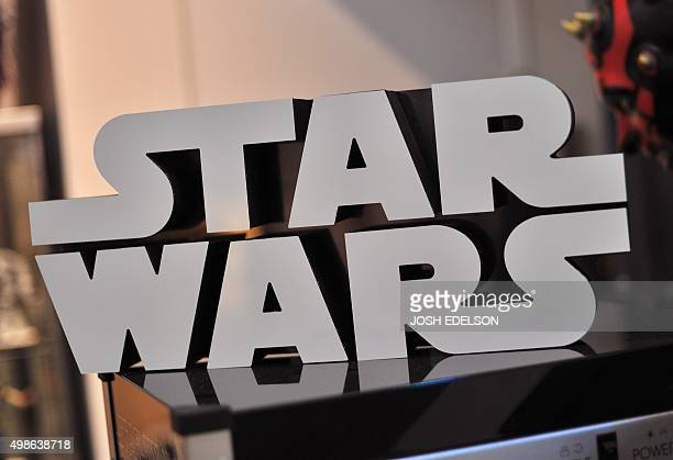 A Star Wars logo sign is seen atop a popcorn machine inside Rancho ObiWan the world's largest private collection of Star Wars memorabilia in Petaluma...
