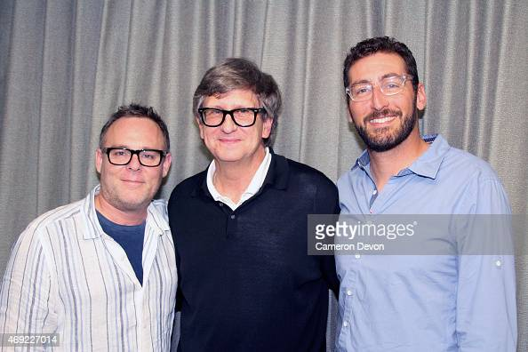 Star Wars VII producer Bryan Burk art director Rick Carter and Star Wars VII production designer Darren Gilford attend Art Directors Guild Presents A...