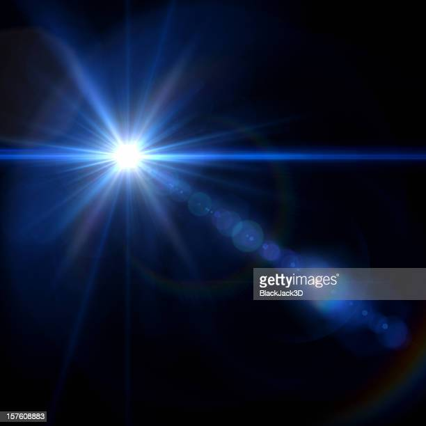 Star With Lens Flare