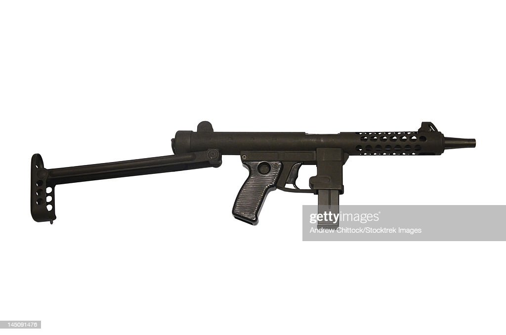 Star Z70b 9mm submachine gun.