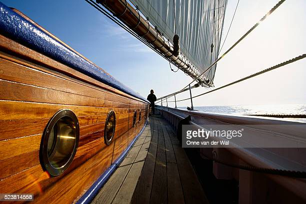 Starboard Side of Sailboat