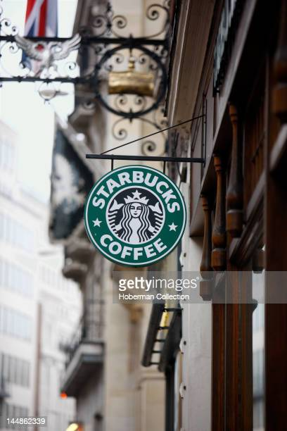 Starbucks Coffee Sign London