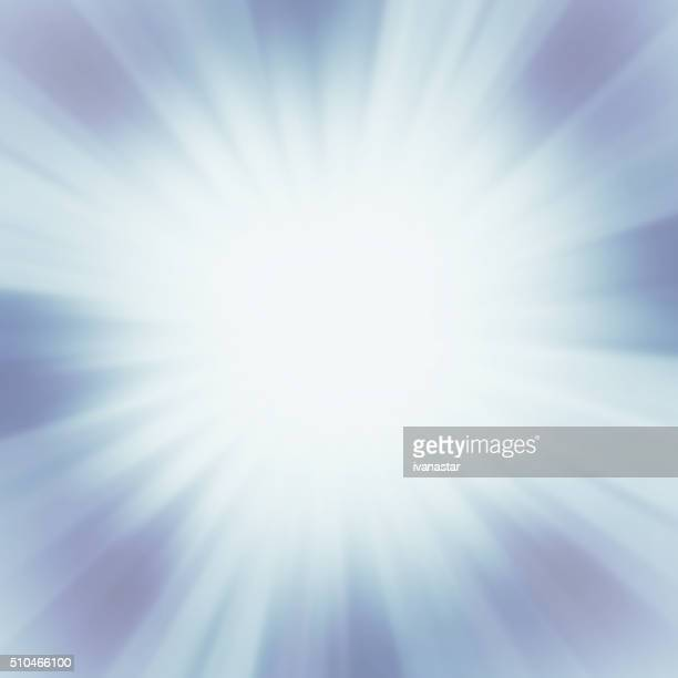 Starburst Blue Light Beam Abstract Background