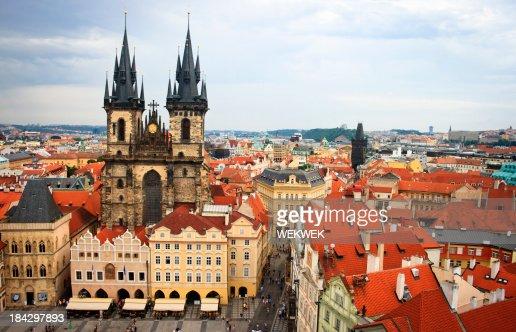 'Stare Mesto (Old Town), Prague, Czech Republic'