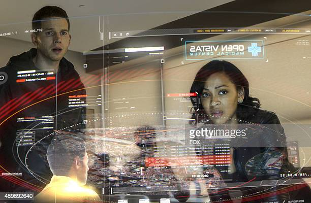 Stark Sands and Meagan Good in MINORITY REPORT airing Monday Sep 21 on FOX