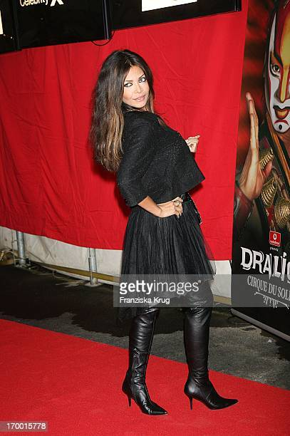 Starlet Kader Loth at The 'Dralion' premiere from 'Cirque Du Soleil' in Berlin 300806