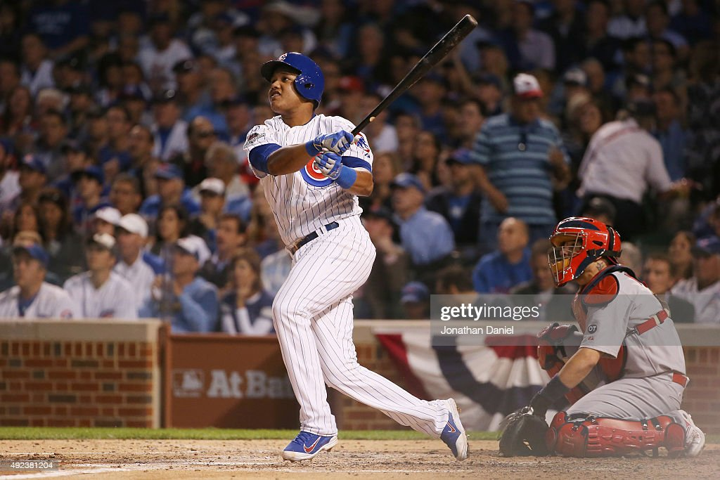 Division Series - St Louis Cardinals v Chicago Cubs - Game Three