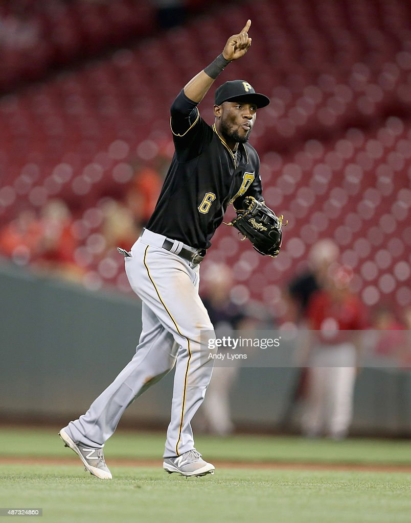 Starling marte photos photos cincinnati reds v pittsburgh pirates -  A Gi Track Captionpersonalitylinkclicked Href Galleries Search Starling Marte 6 Of The Pittsburgh Pirates