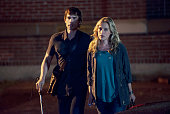 AFFAIRS 'Starlings of the Slipstream' Episode 512 Pictured Christopher Gorham as Auggie Anderson Piper Perabo as Annie Walker