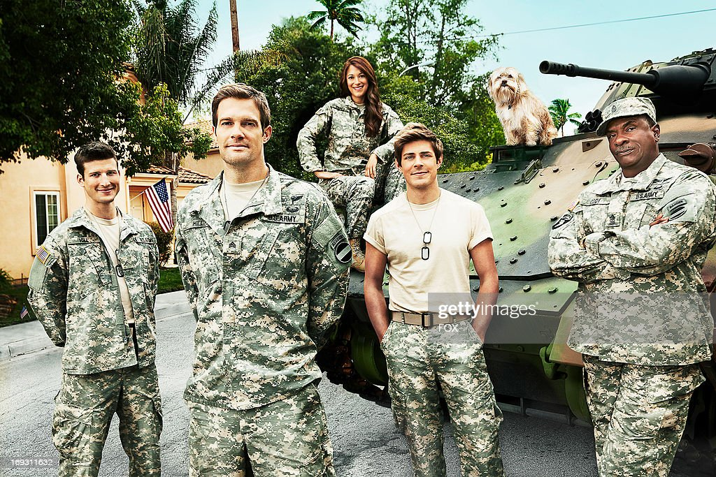 Starring Geoff Stults Chris Lowell and Parker Young ENLISTED is an irreverent and heartfelt singlecamera comedy about an older sibling who returns...
