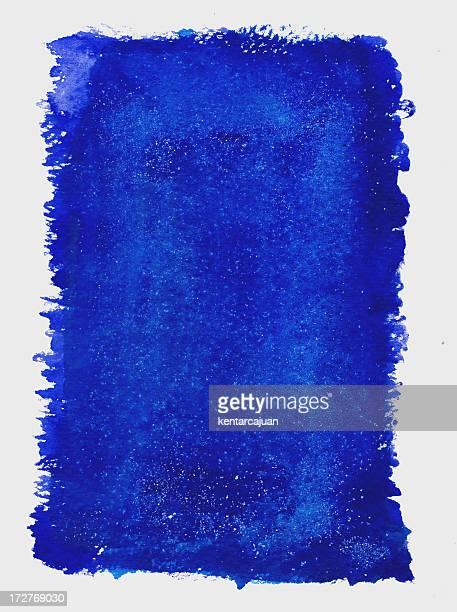Cielo estrellado de montura azul