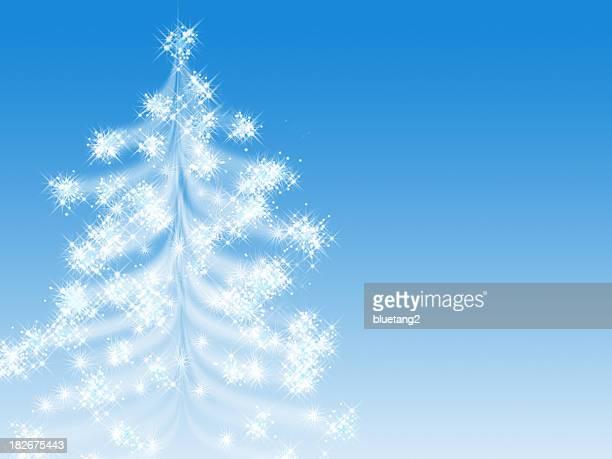 starry christmas tree