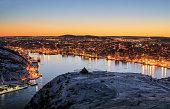 Starry city, St. John's, Newfoundland