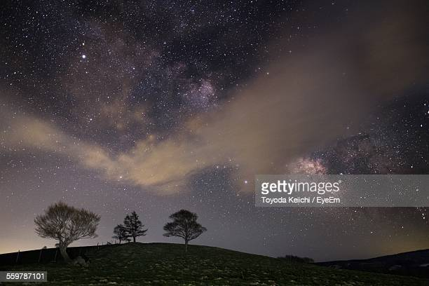 Starry Night Over Hill