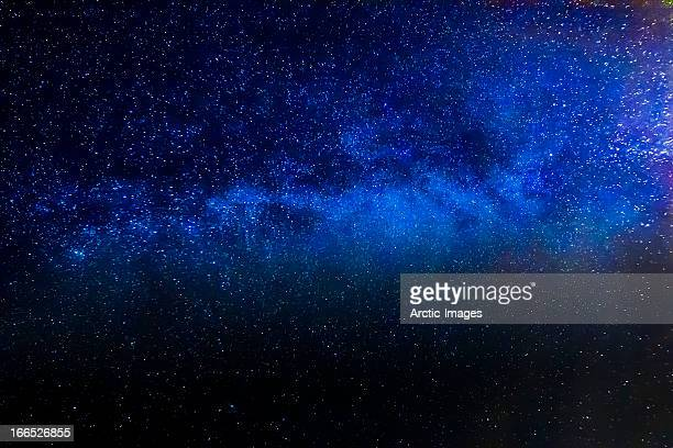 Starry night with the Milky Way Galaxy