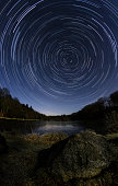 Starry Rotating Night