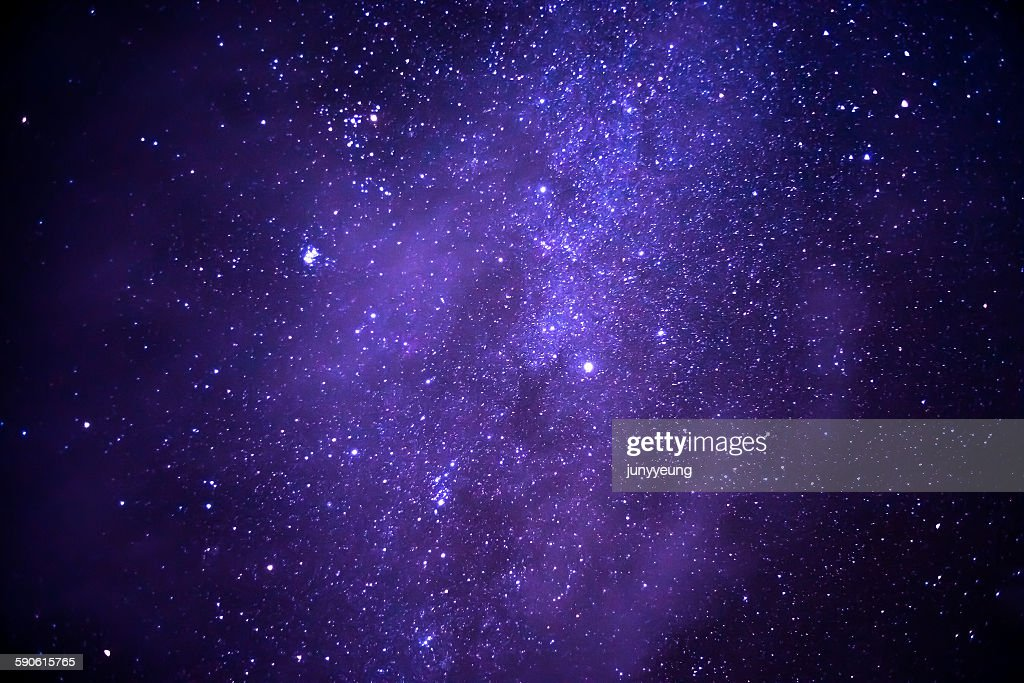 Starry sky : Stock-Foto
