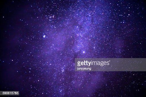 Starry sky