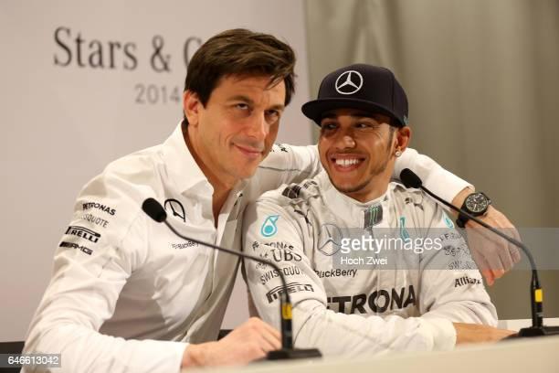 Stars Cars Stuttgart Pressekonferenz Christian 'Toto' Wolff Lewis Hamilton
