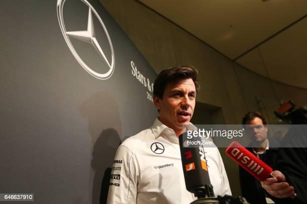 Stars Cars Stuttgart Pressekonferenz Christian 'Toto' Wolff