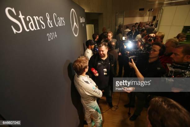 Stars Cars Stuttgart Pressekonferenz Nico Rosberg